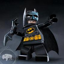 Lego Batman Original Artwork Thumbnail