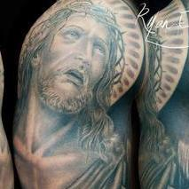 Religious Sleeve  Tattoo Design Thumbnail