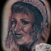 Mothers portrait  Tattoo Design Thumbnail